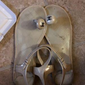 Shoes - C H A N E L sandals